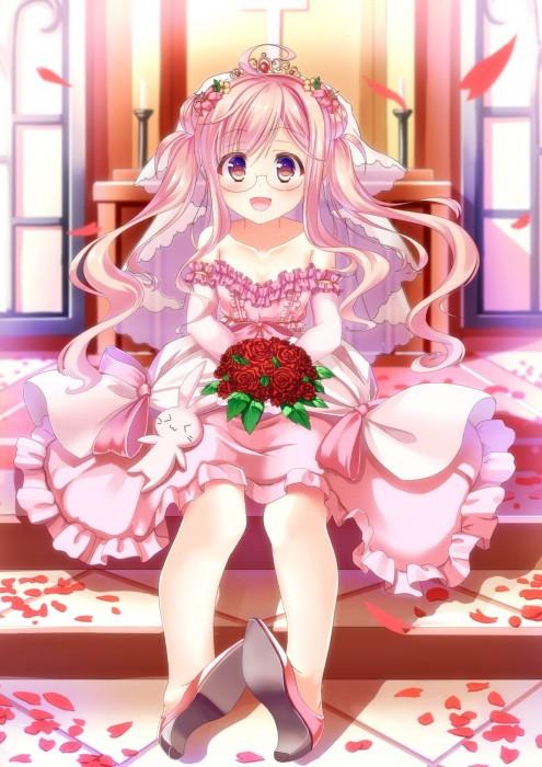 二次 エロ 萌え フェチ ピンク髪 髪型 赤紫 桃色 ピンク色の髪の毛をしたキャラクターは淫乱 淫乱ピンク 二次エロ画像 pinkgami2015121132