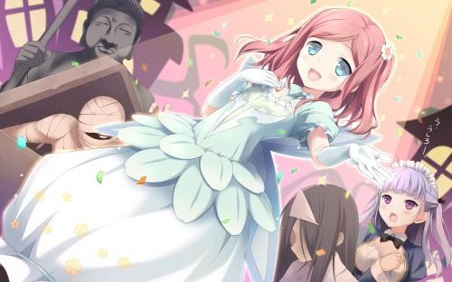 二次 エロ 萌え フェチ ピンク髪 髪型 赤紫 桃色 ピンク色の髪の毛をしたキャラクターは淫乱 淫乱ピンク 二次エロ画像 pinkgami2015121140
