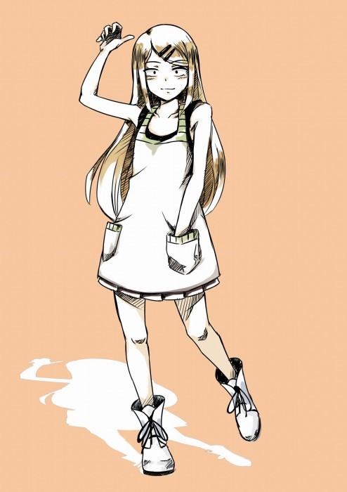 二次 エロ 萌え アニメ 漫画 だがしかし 遠藤サヤ 八重歯 四白眼のスレンダー少女 ピアス 茶髪 おでこ サヤ師 ピアス ヘアピン 二次エロ画像 endousaya2016012432
