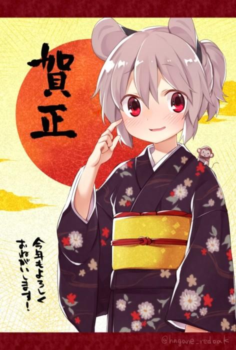 二次 萌え 非エロ フェチ 和服 着物 振袖 お正月 謹賀新年 二次微エロ画像 kimono10020160111016