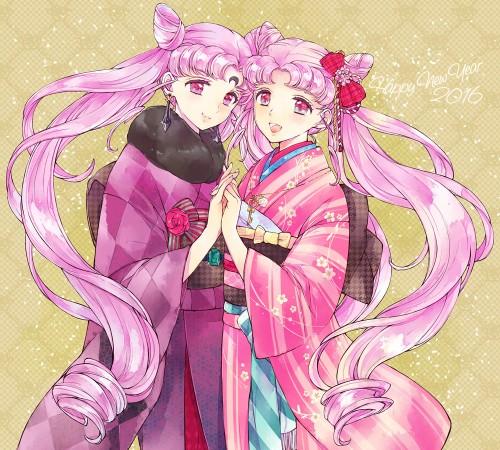 二次 萌え 非エロ フェチ 和服 着物 振袖 お正月 謹賀新年 二次微エロ画像 kimono10020160111029