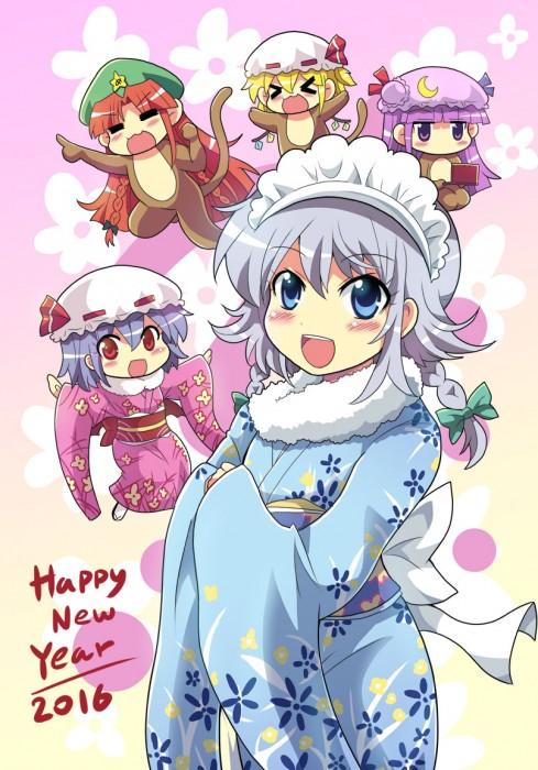 二次 萌え 非エロ フェチ 和服 着物 振袖 お正月 謹賀新年 二次微エロ画像 kimono10020160111073