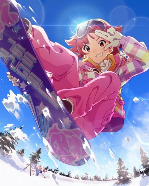 二次 非エロ 萌え 美少女風景 季節 冬 冬服 雪 雪山 スキー スノーボード スケート スキーウェア ウインタースポーツ 二次微エロ画像 wintersports2016012206