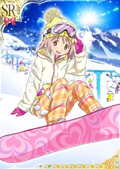 二次 非エロ 萌え 美少女風景 季節 冬 冬服 雪 雪山 スキー スノーボード スケート スキーウェア ウインタースポーツ 二次微エロ画像 wintersports2016012232