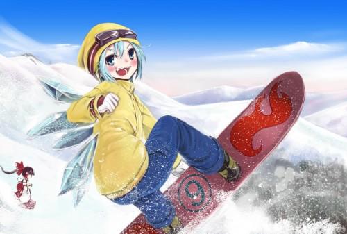 二次 非エロ 萌え 美少女風景 季節 冬 冬服 雪 雪山 スキー スノーボード スケート スキーウェア ウインタースポーツ 二次微エロ画像 wintersports2016012237