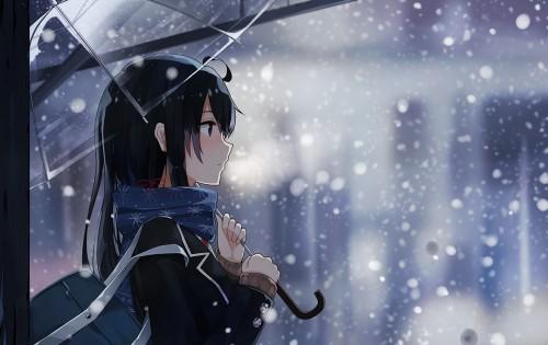 二次 エロ 萌え アニメ フェチ ラノベ やはり俺の青春ラブコメはまちがっている。 雪ノ下雪乃 はまち 俺ガイル 女子高校生 JK 黒髪 ニーソ 貧乳 毒舌 二次エロ画像 yukinoshitayukino2016010633