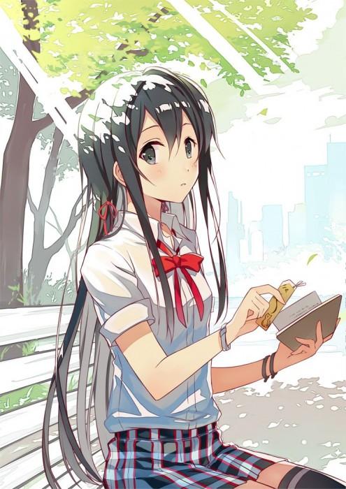 二次 エロ 萌え アニメ フェチ ラノベ やはり俺の青春ラブコメはまちがっている。 雪ノ下雪乃 はまち 俺ガイル 女子高校生 JK 黒髪 ニーソ 貧乳 毒舌 二次エロ画像 yukinoshitayukino2016010641