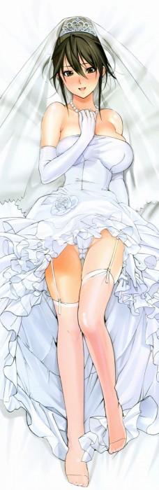 二次 エロ 萌え フェチ ウェディングドレス ビスチェ ガーターベルト 純白 白無垢 ヴェール 花嫁 虹嫁 二次嫁 ロンググローブ 手袋 二次エロ画像 weddingdress2016020837