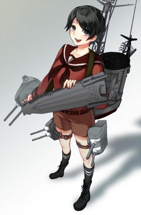 二次 エロ 萌え フェチ 艦隊これくしょん 擬人化 最上 短パン・ショートパンツ・ホットパンツ セーラー服 ショートカット・短髪 黒髪 ボクっ娘 最上型重巡洋艦 もがみん キュロット ボーイッシュ 二次エロ画像 mogamikancolle2016031732