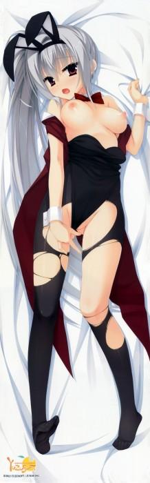 二次 エロ 萌え フェチ シーツ掴み セックス 寝そべり 誘惑 抱き枕 うつ伏せ 仰向け 二次エロ画像 sheettukami2016040148