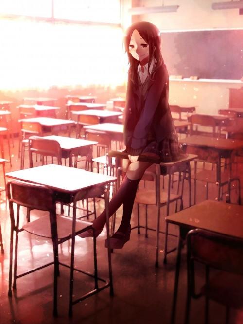 二次 エロ 萌え フェチ 制服 袴 和服 着物 泣いてる 涙 笑顔 卒業式 賞状筒 証書筒 桜 二次エロ画像 sotugyoushiki2016031825