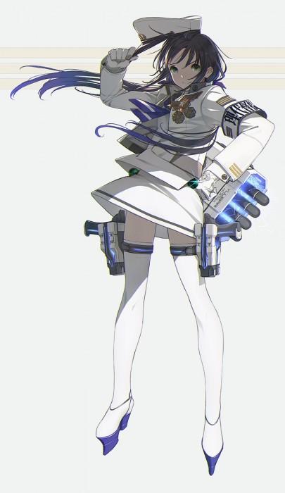 二次 非エロ 萌え ゲーム 艦隊これくしょん 艦これ 擬人化 涼風 手袋 ロンググローブ 青髪 貧乳 ノースリーブ 江戸っ子艦娘 おさげ(二つ結び) 白露型駆逐艦10番艦 ニーソ さみすず 二次非エロ画像 suzukazekancolle2016031139