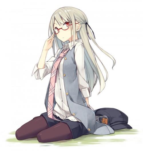 二次 エロ 萌え フェチ メガネ めがね 眼鏡 眼鏡っ娘 二次エロ画像 megane2016040549