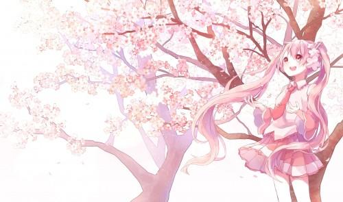 二次 非エロ 萌え 美少女風景 季節 春 桜 桜吹雪 卒業 入学 壁紙 花見 宴会 ふつくしい 桜ミク 二次非エロ画像 sakura10020160406060