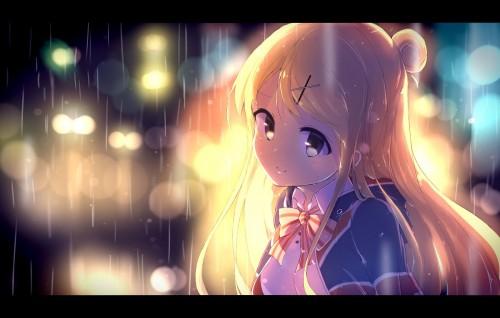 二次 微エロ 萌え フェチ 美少女風景 傘 夏 梅雨 紫陽花 花 濡れてる 透けてる 二次微エロ画像 ame2016060125