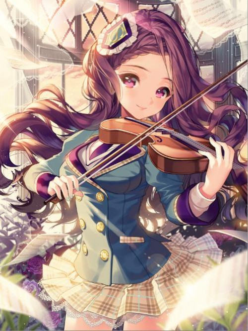 二次 非エロ 萌え 楽器 ヘッドフォン ギター 管楽器 弦楽器 笛 ピアノ ヴァイオリン ドラム 美少女風景 二次非エロ画像 gakki10020160527018