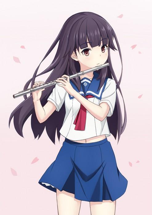 二次 非エロ 萌え 楽器 ヘッドフォン ギター 管楽器 弦楽器 笛 ピアノ ヴァイオリン ドラム 美少女風景 二次非エロ画像 gakki10020160527024