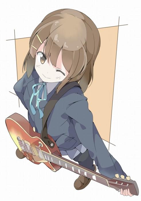 二次 非エロ 萌え 楽器 ヘッドフォン ギター 管楽器 弦楽器 笛 ピアノ ヴァイオリン ドラム 美少女風景 二次非エロ画像 gakki10020160527035