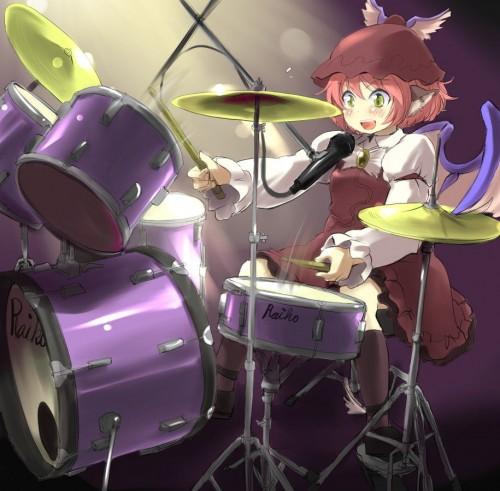 二次 非エロ 萌え 楽器 ヘッドフォン ギター 管楽器 弦楽器 笛 ピアノ ヴァイオリン ドラム 美少女風景 二次非エロ画像 gakki10020160527036