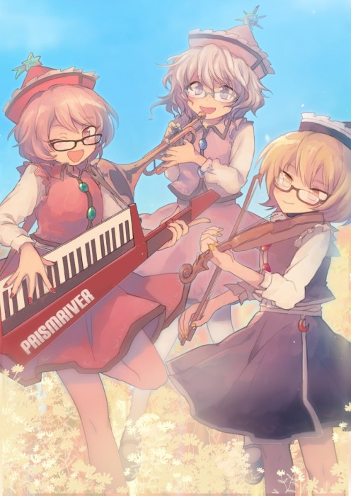 二次 非エロ 萌え 楽器 ヘッドフォン ギター 管楽器 弦楽器 笛 ピアノ ヴァイオリン ドラム 美少女風景 二次非エロ画像 gakki10020160527045
