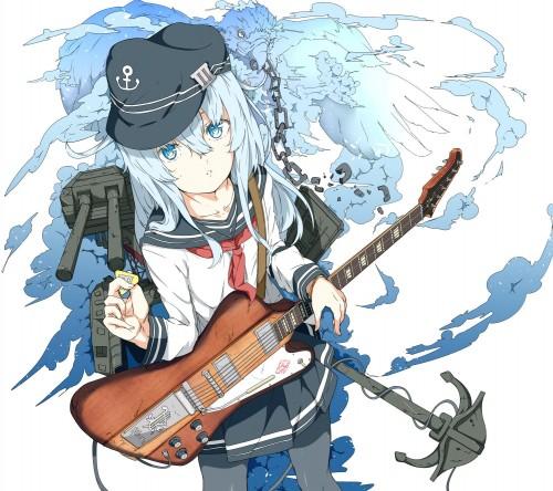 二次 非エロ 萌え 楽器 ヘッドフォン ギター 管楽器 弦楽器 笛 ピアノ ヴァイオリン ドラム 美少女風景 二次非エロ画像 gakki10020160527047