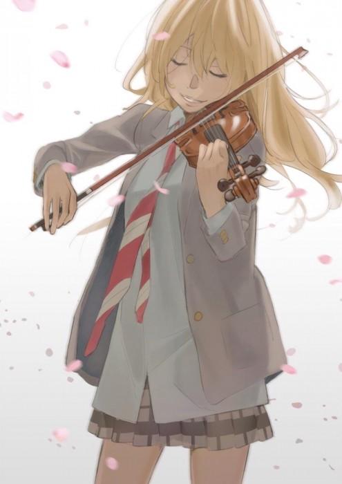 二次 非エロ 萌え 楽器 ヘッドフォン ギター 管楽器 弦楽器 笛 ピアノ ヴァイオリン ドラム 美少女風景 二次非エロ画像 gakki10020160527081