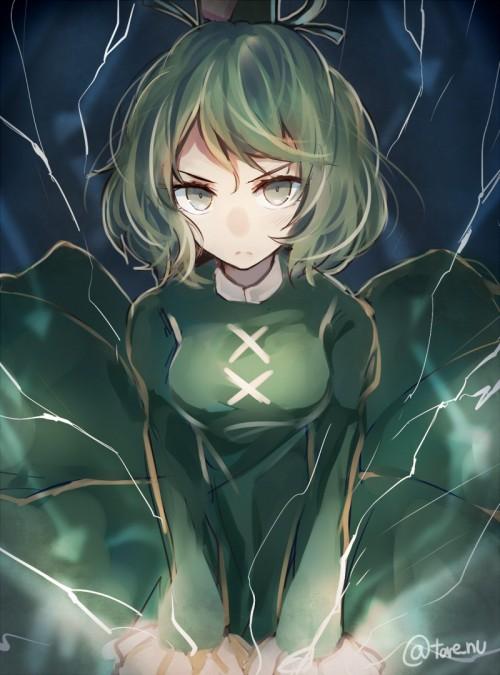 二次 エロ 萌え フェチ 緑髪 髪型 青緑 深緑 緑 黄緑 不人気 二次エロ画像 midorigami10020160504042