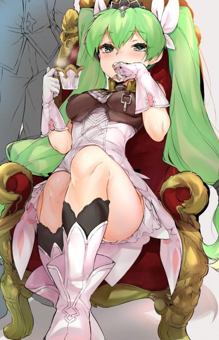 二次 エロ 萌え フェチ 緑髪 髪型 青緑 深緑 緑 黄緑 不人気 二次エロ画像 midorigami10020160504066