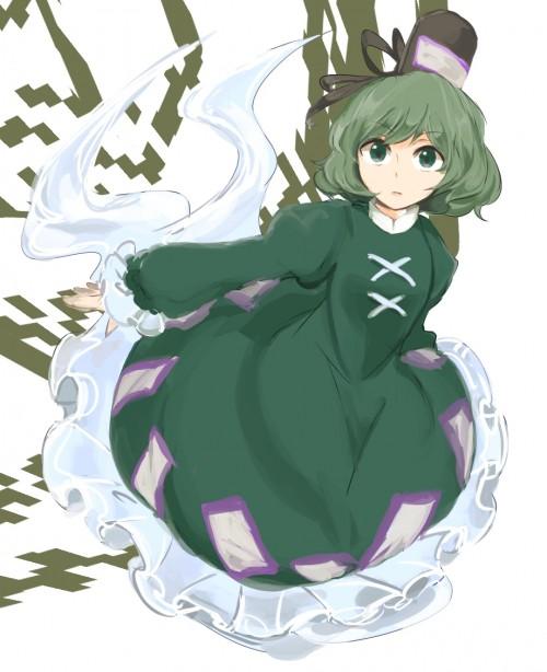 二次 エロ 萌え フェチ 緑髪 髪型 青緑 深緑 緑 黄緑 不人気 二次エロ画像 midorigami10020160504078