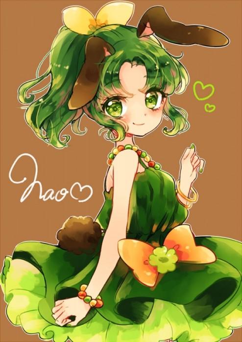 二次 エロ 萌え フェチ 緑髪 髪型 青緑 深緑 緑 黄緑 不人気 二次エロ画像 midorigami10020160504080