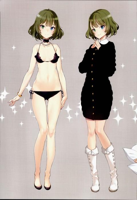 二次 エロ 萌え フェチ 緑髪 髪型 青緑 深緑 緑 黄緑 不人気 二次エロ画像 midorigami10020160504091