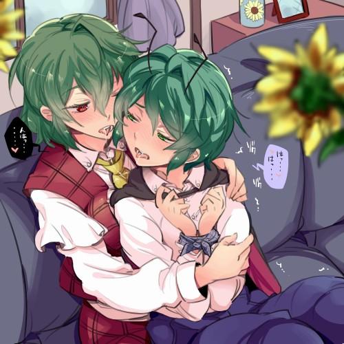 二次 エロ 萌え フェチ 緑髪 髪型 青緑 深緑 緑 黄緑 不人気 二次エロ画像 midorigami10020160504096