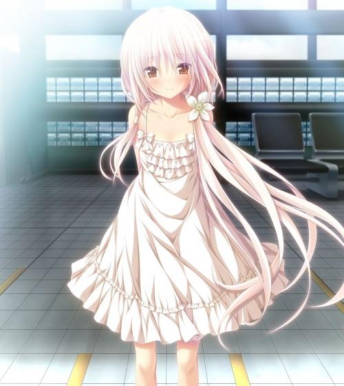 二次 エロ 萌え フェチ ワンピース服 白ワンピ サンドレス スリーブレスドレス 透けてる サマードレス 二次エロ画像 onepiecehuku2016051416