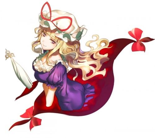 二次 エロ 萌え ゲーム 東方project 八雲紫 スキマ ゆかりん BBA スキマババァ 加齢臭 少女臭 靴下臭 罪袋 妖怪の賢者 二次エロ画像 yakumoyukari2016052615