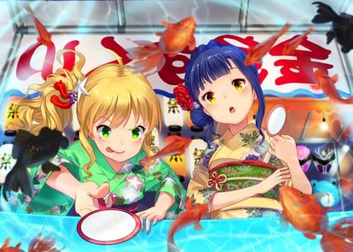 二次 萌え エロ フェチ 和服 着物 浴衣 はだけた 花火 脱衣 季節 夏 お祭り 二次エロ画像 yukata2016062538