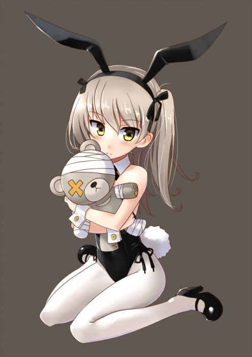 二次 エロ 萌え フェチ コスプレ うさ耳 バニーガール バニースーツ タイツ 網タイツ タイツ ストッキング ハイレグ 付け襟 ハイヒール けもみみ 獣耳 ウサギの真似 二次エロ画像 bunnygirl2016072706