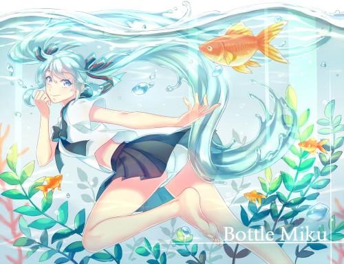 二次 非エロ 萌え フェチ 水着 ビキニ スク水 水中 深海少女 二次非エロ画像 suichuu2016070608