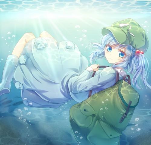 二次 非エロ 萌え フェチ 水着 ビキニ スク水 水中 深海少女 二次非エロ画像 suichuu2016070641