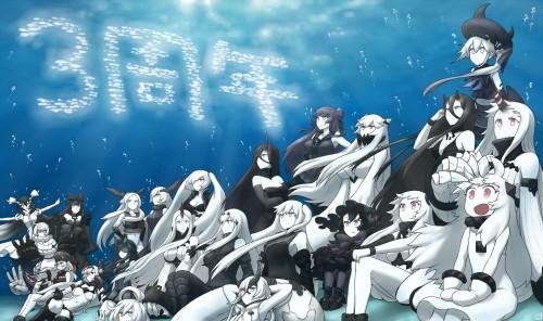 二次 非エロ 萌え フェチ 水着 ビキニ スク水 水中 深海少女 二次非エロ画像 suichuu2016070649