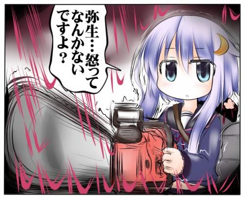 二次 エロ 萌え ゲーム 艦隊これくしょん 艦これ 擬人化 ロリ 弥生 薄紫髪 セーラー服 腹チラ 少女 ょぅι゛ょ 怒ってなんかないよ、怒ってなんか… 二次エロ画像 yayoikancolle2016071336
