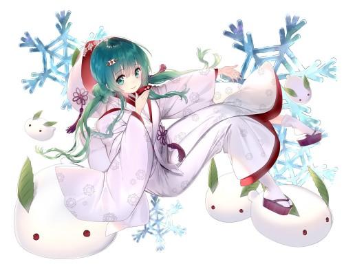 二次 微エロ ゲーム ボーカロイド 初音ミク 萌え 天使 桜ミク ただでさえ天使のミクが かわいい 桜ミク 雪ミク ボトルミク ツインテール 青緑髪 緑髪 いちご白無垢 二次非エロ画像 hatsunemiku2016090213