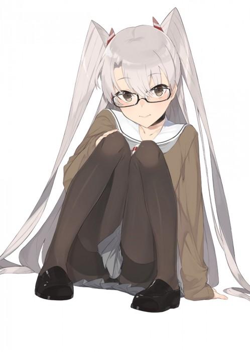 二次 エロ 萌え フェチ メガネ めがね 眼鏡 眼鏡っ娘 二次エロ画像 megane2016092819