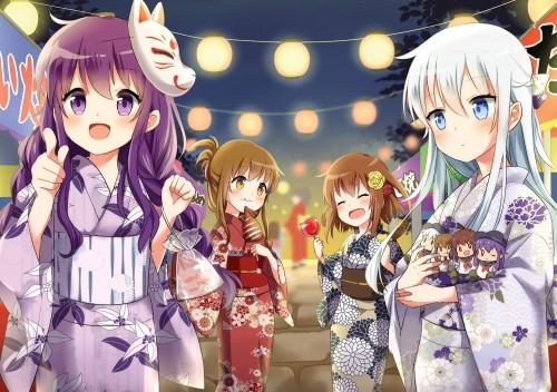 二次 萌え エロ フェチ 和服 着物 浴衣 はだけた 花火 脱衣 季節 夏 お祭り 二次エロ画像 yukata2016090805