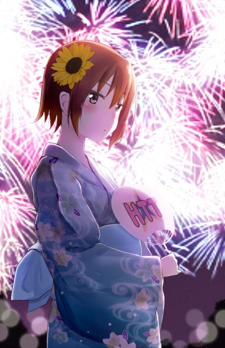 二次 萌え エロ フェチ 和服 着物 浴衣 はだけた 花火 脱衣 季節 夏 お祭り 二次エロ画像 yukata2016090811