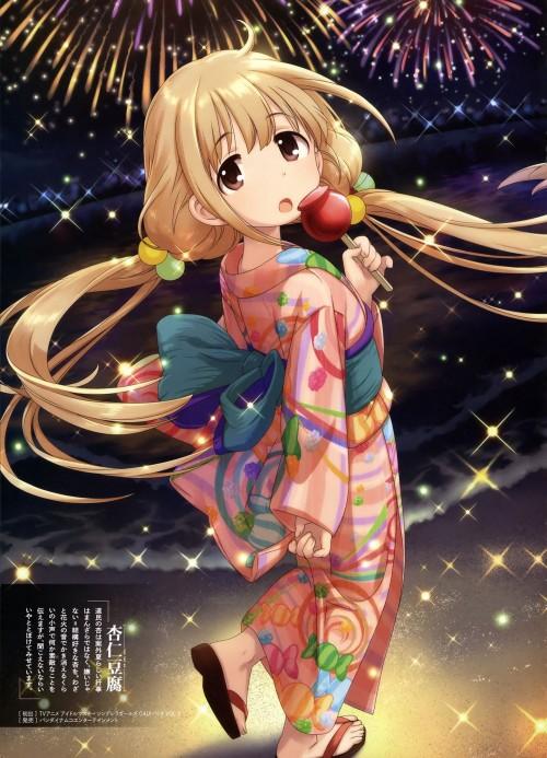 二次 萌え エロ フェチ 和服 着物 浴衣 はだけた 花火 脱衣 季節 夏 お祭り 二次エロ画像 yukata2016090835