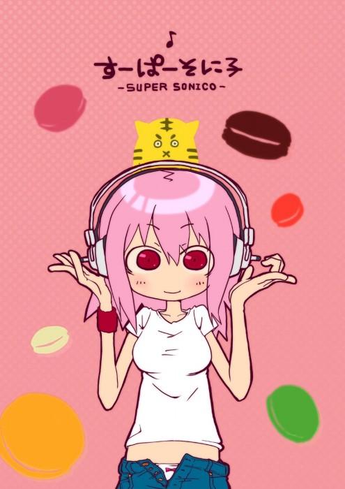 二次 萌え エロ すーぱーそに子 巨乳 おっぱい 巨乳 おっぱい ピンク髪 ニトロプラス ヘッドホン 淫乱ピンク 二次エロ画像 supersonico2016101615