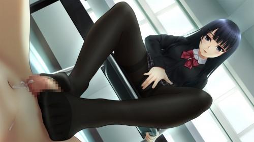 二次 エロ 萌え フェチ プレイ 足コキ M男 S女 女王様 我々の業界ではご褒美です ドMホイホイ 二次エロ画像 ashikoki2016112617