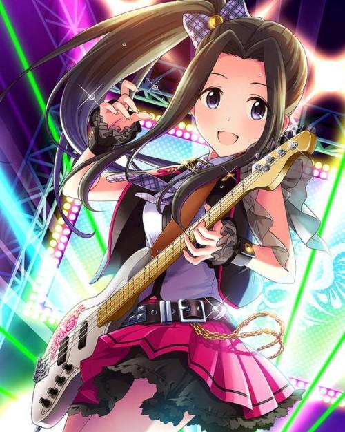 二次 非エロ 萌え 楽器 ヘッドフォン ベース コントラバス 美少女風景 二次非エロ画像 bass20161111017