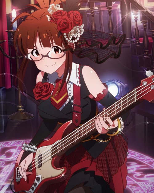 二次 非エロ 萌え 楽器 ヘッドフォン ベース コントラバス 美少女風景 二次非エロ画像 bass20161111019