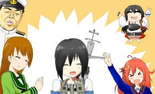 二次 エロ 萌え ゲーム 艦隊これくしょん 擬人化 艦娘 艦これ 吹雪 セーラー服 黒髪 パンツ パンチラ パンツ!パンツです! ふぶなんとかさん 空気 主人公(笑) 二次エロ画像 hubukikancolle10020161117100